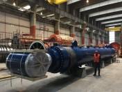De zwaarste cilinder ooit geproduceerd door Bosch Rexroth